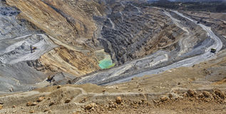Cooper mine - Open pit 2 Stock Images