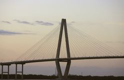Cooper River Bridge Stock Image