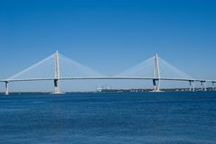 Cooper River Bridge Stock Photography