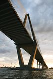 Cooper River Bridge in Charleston. Stock Images