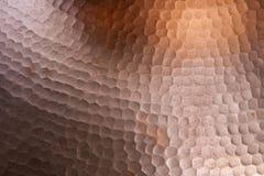 Cooper texture Royalty Free Stock Photo