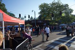 Cooper-Young Street Fair and Festival 2018 stock images