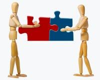 cooperação Imagens de Stock Royalty Free