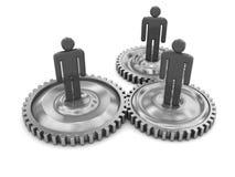 Cooperação do negócio ilustração do vetor