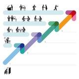 Cooperação do negócio Foto de Stock