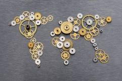 Cooperação global Imagens de Stock