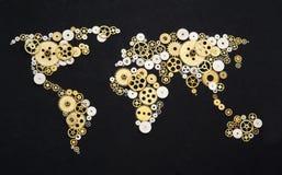 Cooperação global Imagens de Stock Royalty Free
