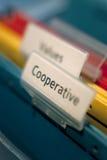 Cooperação simbólica Fotografia de Stock