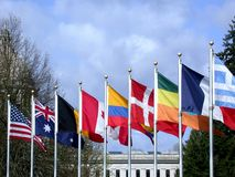 Cooperación internacional Fotos de archivo