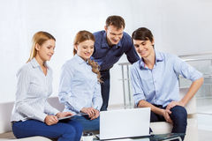 Cooperate for productive work Royalty Free Stock Image