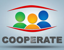 Cooperate Stock Images
