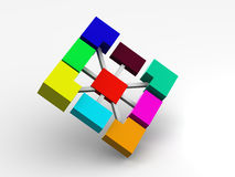 Cooperation vector illustration