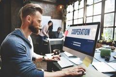 Cooperation Alliance Company έννοια ομαδικής εργασίας ενότητας Στοκ εικόνες με δικαίωμα ελεύθερης χρήσης