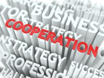 Cooperation Concept. Stock Photography