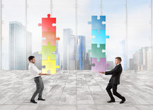 Cooperation at work Royalty Free Stock Photography