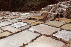 Cooperative salt pans in Maras 11 stock photos