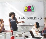Cooperazione Team Partnership Alliance Concept Fotografia Stock Libera da Diritti
