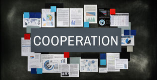 Cooperpation Agreement Alliance Associate Unity Concept royalty free stock photography
