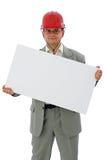Coordenador de construção Fotografia de Stock Royalty Free