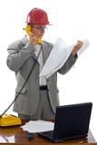 Coordenador de construção Foto de Stock
