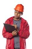 Coordenador de construção novo fotografia de stock