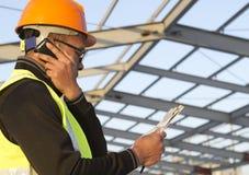 Coordenador de construção Foto de Stock Royalty Free