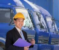 Coordenador do transporte Imagens de Stock