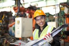 Coordenador industrial Fotografia de Stock