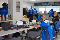Coordenadores que trabalham nos poços da raça Imagem de Stock Royalty Free