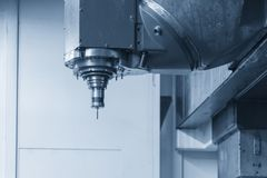 The Coordinate Measuring Machine ,CMM prob Royalty Free Stock Photography