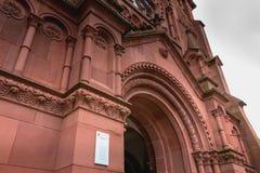 Coordonnée architecturale de l'évangéliste Kirche Paul Church Image libre de droits