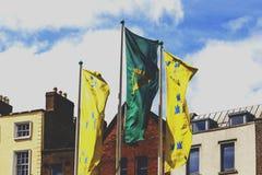 Coordonnée de Dame Street dans le secteur de barre de temple de Dublin Photographie stock