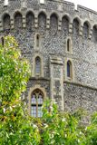 Coordonnées de Windsor Round Tower Images libres de droits