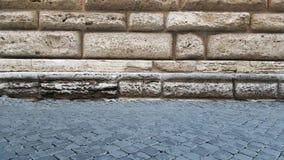 Coordonnées de par l'intermédiaire de Giulia, Rome, Italie Photos libres de droits