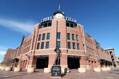 Coors域-丹佛,科罗拉多 免版税图库摄影