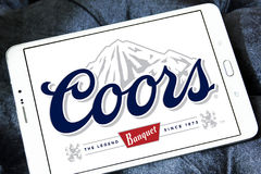 Coors banquet beer logo Royalty Free Stock Photo