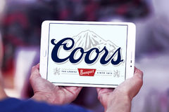 Coors banquet beer logo Stock Photo