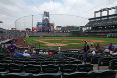Coors field Royalty Free Stock Photo