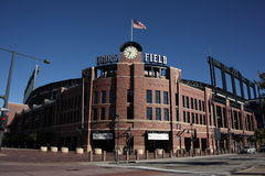 Coors Field - Colorado Rockies Stock Image