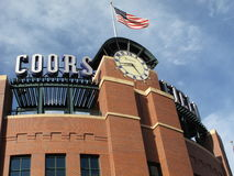 Coors Field - Colorado Rockies Royalty Free Stock Images