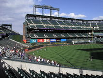 Coors Field - Colorado Rockies Royalty Free Stock Photos