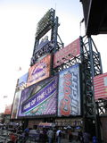 Coors Field - Colorado Rockies Stock Images