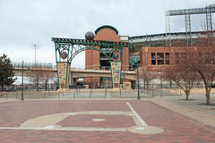 Coors Field - Denver, Colorado Stock Image