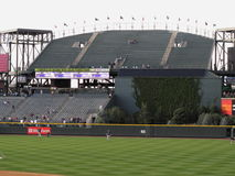 Coors Field Rock Pile - Colorado Rockies Royalty Free Stock Photography