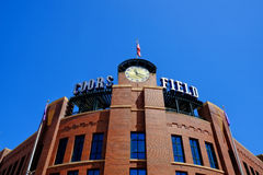 Coors Field Rockies Stock Images