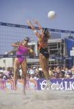 Coors Light女子的专业排球, 免版税库存图片