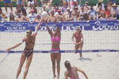 Coors Light Women's Professional Volleyball, Royalty Free Stock Photo