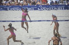 Coors Light Women's Professional Volleyball Royalty Free Stock Images