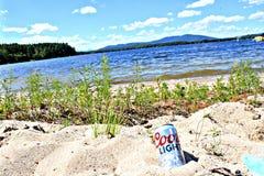Coors sur la plage Photographie stock libre de droits