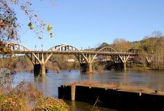 Coosa的桥梁 库存图片